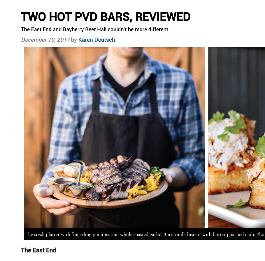 Hot Providence Bars