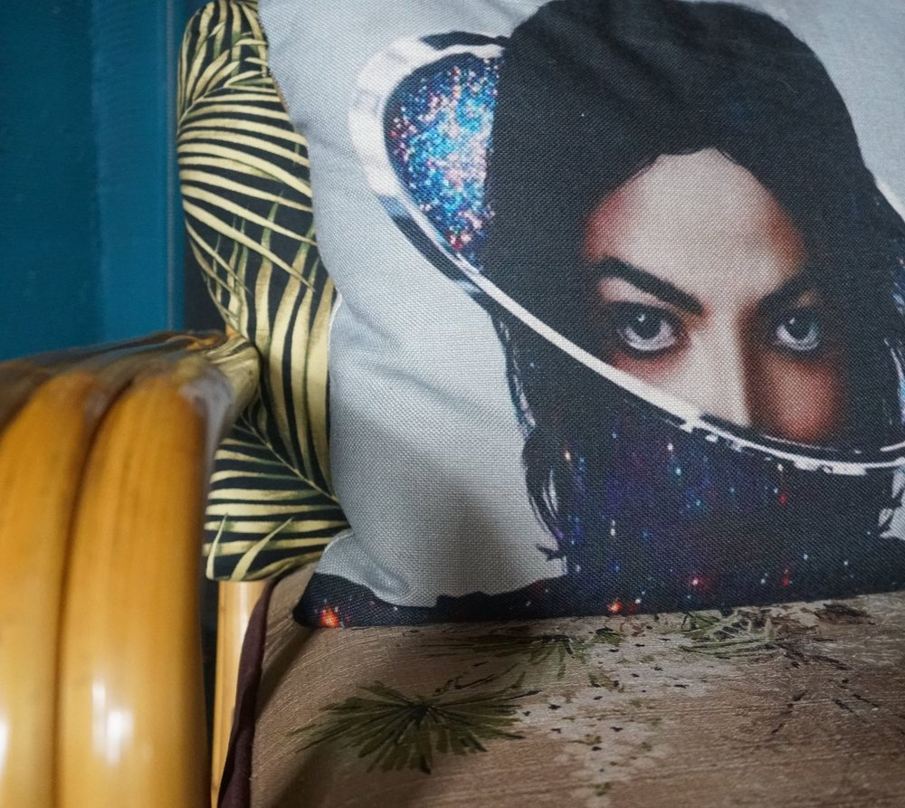 Custom Designed Michael Jackson Pillow