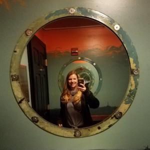 The porthole infinity mirror at PTX Lounge.