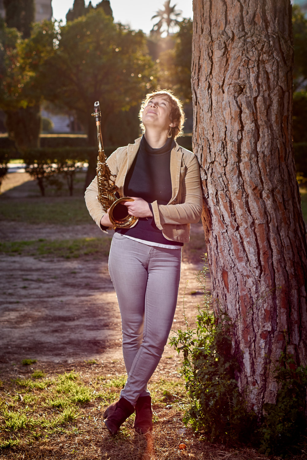 - You can check out some of Sylvie´s new music here . She also told me about some plans to record new material with a fellow Berklee student, Saxophone and Marimba . Cant wait to hear it!