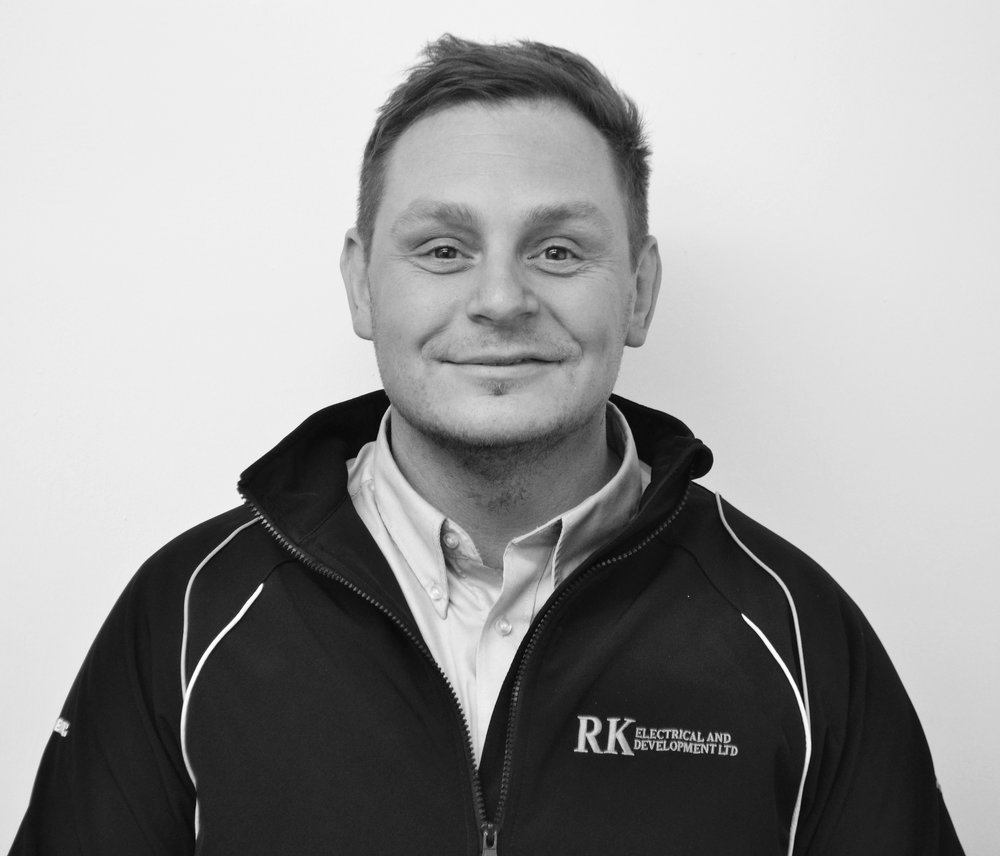 Rory founded RK Electrical & Development in 2015 and has built the company up from a small team of just 3 to it's current size.