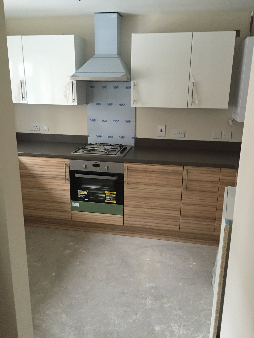 Social housing kitchen upgrade