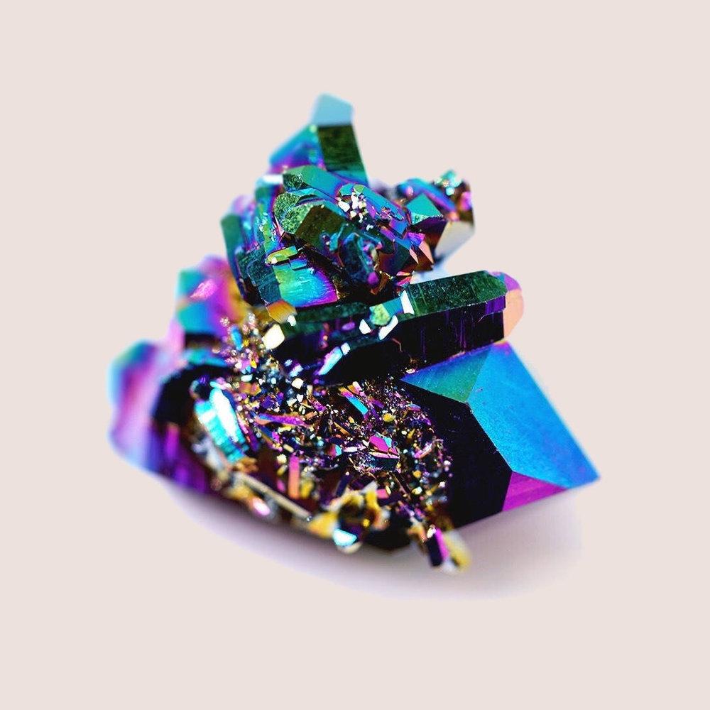 TITANIUM AURA quartz -