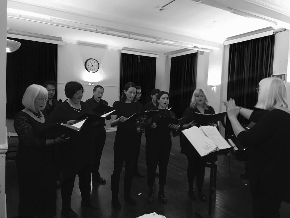 musicspace_woolwich  Chamber Singers at Mycenae House on April 9th 2018.