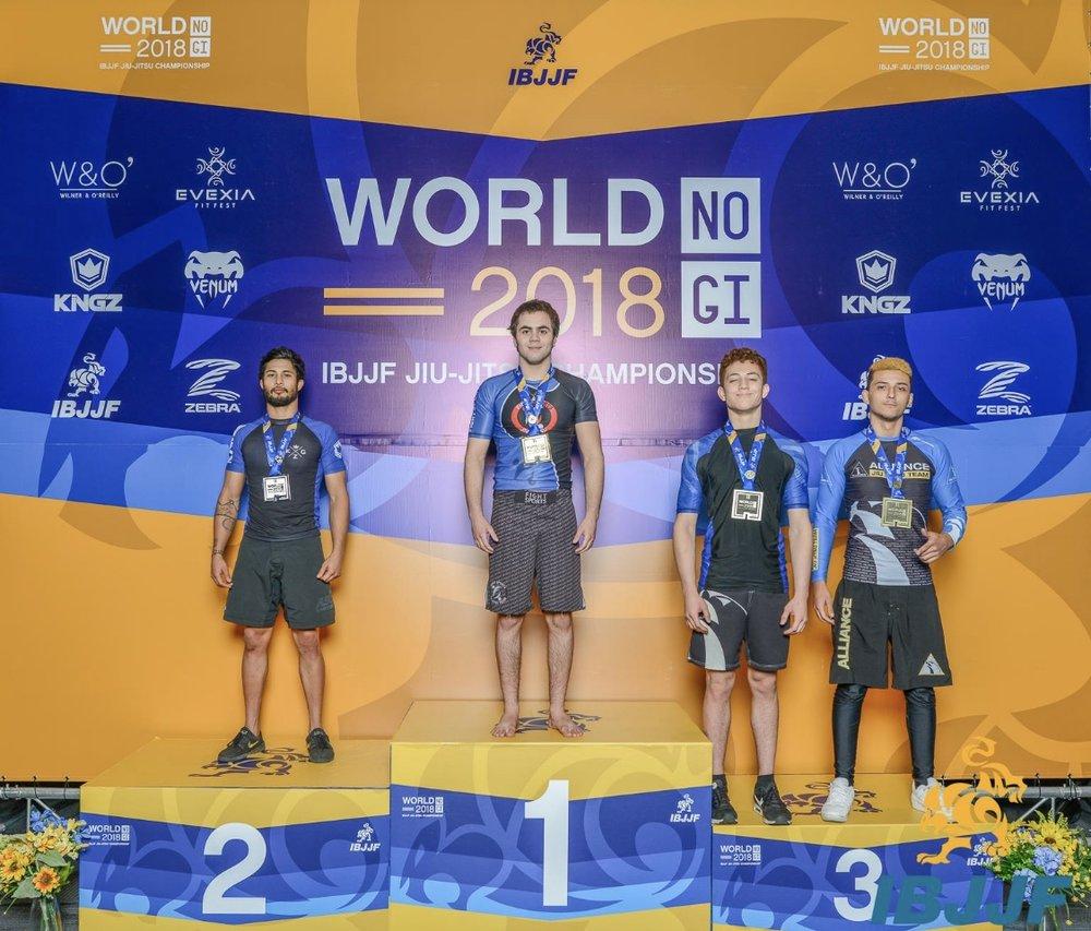 Nicholas Isaiah Gonzalez- 3rd Place