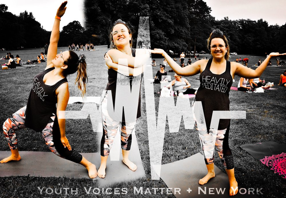 """Nama-Stay in the Moment"" - Hey friends – and yogis, Carlee here.WOW WOW WOW is all I can say and here's why.On Saturday June 9, I attended the New York State Yoga Festival. Now, I'm not familiar with yoga so when my boyfriend's sister, Danielle, asked me to join her, I hesitated. She explained to me the benefits of yoga and how amazing it feels after, PLUS she had a free admission because her mom couldn't go. So I decided to give it a try.On Friday June 8th my boyfriend, Danielle, her husband, and I made it to Letchworth State Park for a weekend of camping – which I LOVE. The whole day I was worried about the yoga festival. ""What if I can't perform a specific move?"" ""What if my form isn't good?"" ""Are people going to be watching me?"" I felt very uncomfortable and tried to find ways to get out of going.Fast forward… Saturday June 9th 8:30 am. We are on our way to the festival. Nerves are setting in. We make it to the registration table and I become a little more comfortable. Everyone was so welcoming and friendly. We made our way to the main stage and a little while later, we began our first class of the day with 1300 other attendees.IT. WAS. INCREDIBLE.Struggling to talk through my tears, I said to Danielle ""Why have I never done this before?"" The release I felt after that first class was unlike any other. I can remember the instructor saying ""Be happy for this moment for this moment is your life"" and for some reason that really resonated with me. I began to slow down and really savor the moment I was in. It is a piece of my life and I want to enjoy it. The instructor also had us reflect on our bodies and their ability to bend, twist and move. This was very new to me because I always disliked my body. I finally found appreciation for it when I realized all the incredible things it can do.It was at this point that I knew the rest of the day was going to be amazing. We participated in two more classes after that. One of them was called Hip Hop Yoga. I WAS SO READY FOR IT! The instructor started bumpin' 90s and early 00's beats and the entire crowd went crazy. I had a lot of fun during that session, especially when we had a dance party midway through.Overall, my first real experience with yoga was so freakin cool. Since the festival I bought my own yoga mat and have been using it regularly.For those interested, I HIGHLY recommend trying yoga if you feel the need to let go of some emotions or negativity. The instructor will continuously say positive and reaffirming things that have you feeling so much better. Just remember not to worry about who is watching or if you're going to get the position perfect. Take it from me – I was shaking my butt and dancing like a fool when the hip hop session broke out. If I can feel comfortable doing that, then you can too.And if you try yoga and it just isn't working out for you, that's okay too! You have to be comfortable with whatever helps you recover and stay positive in the crazy life. No matter what activities you participate in, remember to be happy for this moment, for this moment is your life"