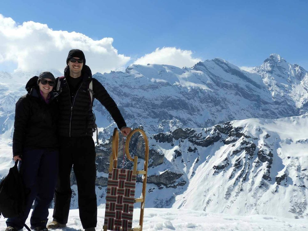 switzerland_murren_winter_sledding_snow_sledge_wife_husband.JPG