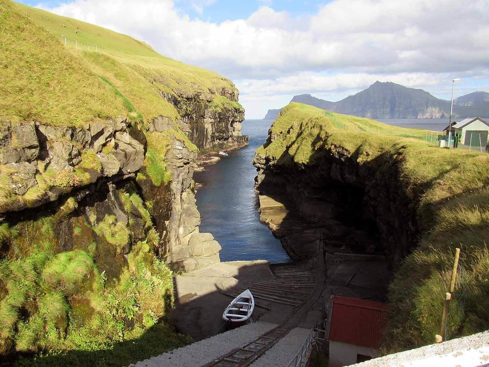 denmark-faroe-islands-eysturoy-gjogv-natural-harbor-boats-ramp.JPG