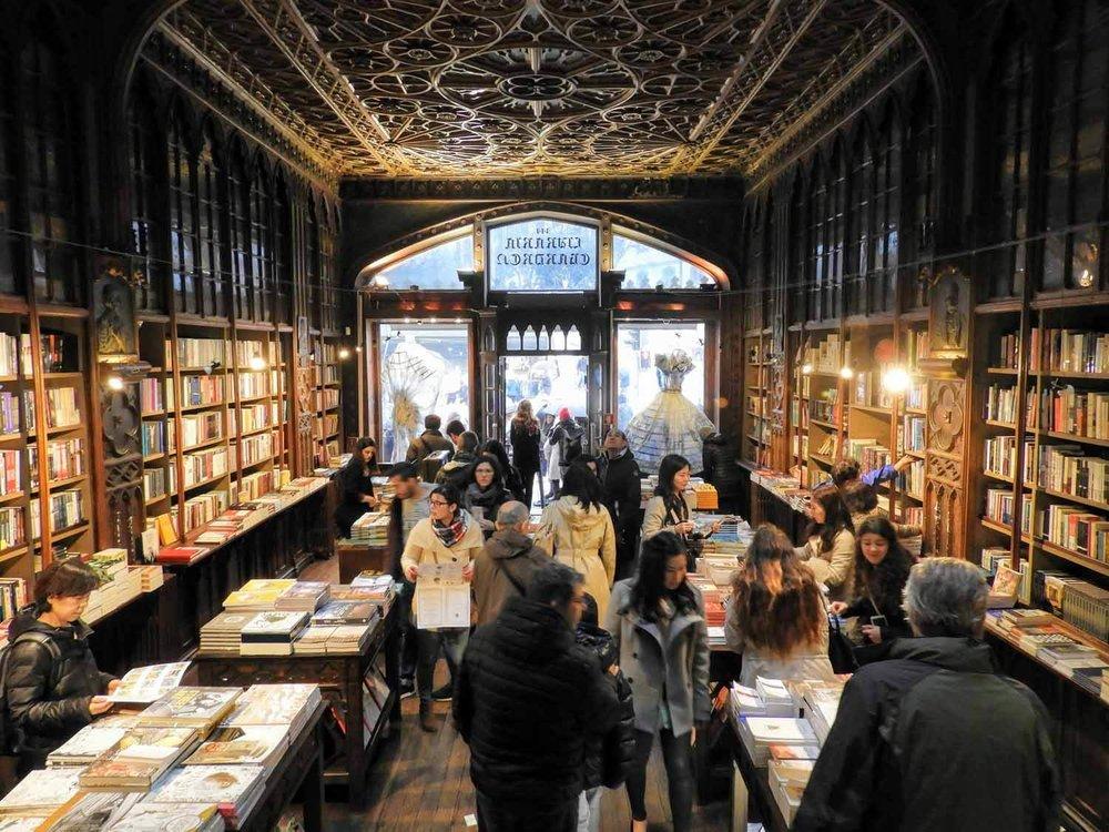 Livraria Lello Bookstore -