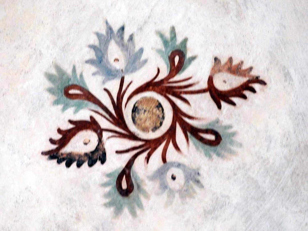 germany-kloster-maulbronn-ceiling-decoration-painting.JPG