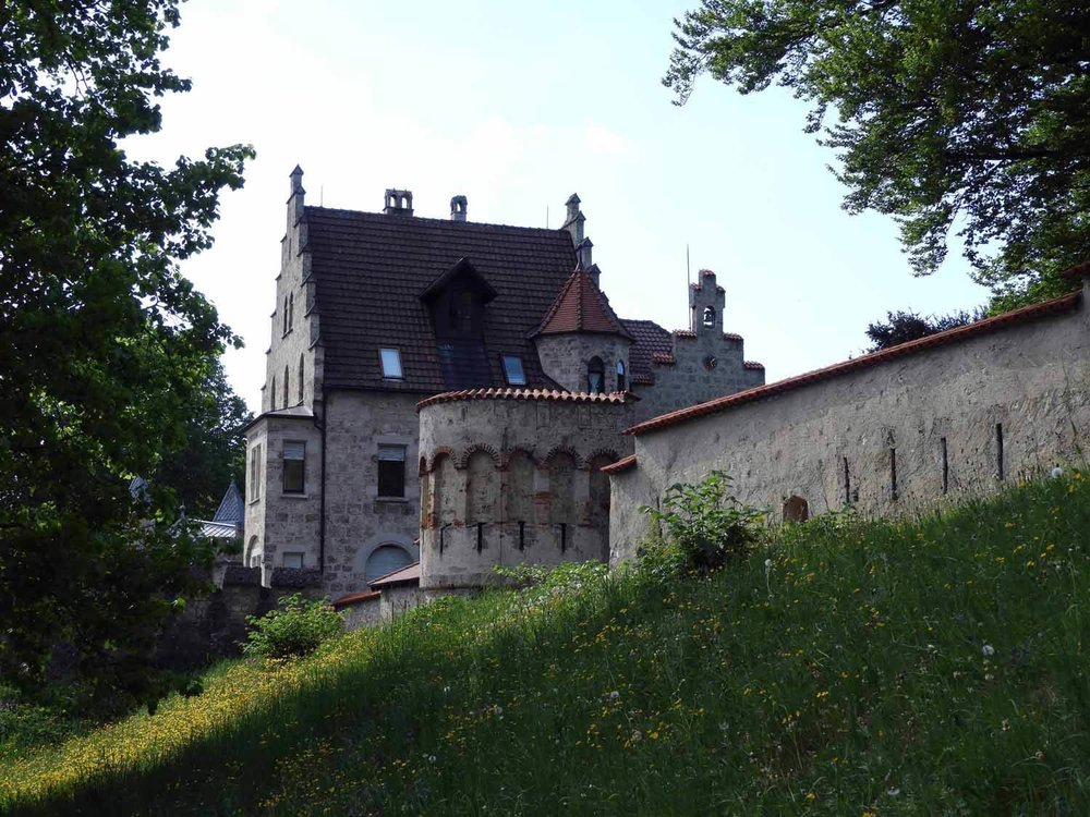 germany-schloss-lichtenstein-caslte-walls-grass.JPG