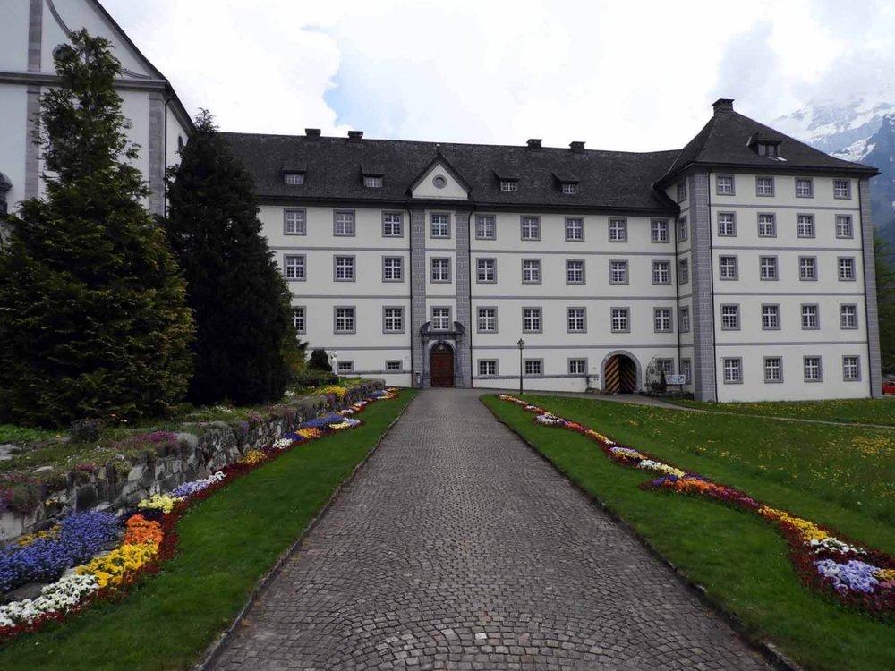 switzerland-engelberg-monestary-spring.JPG