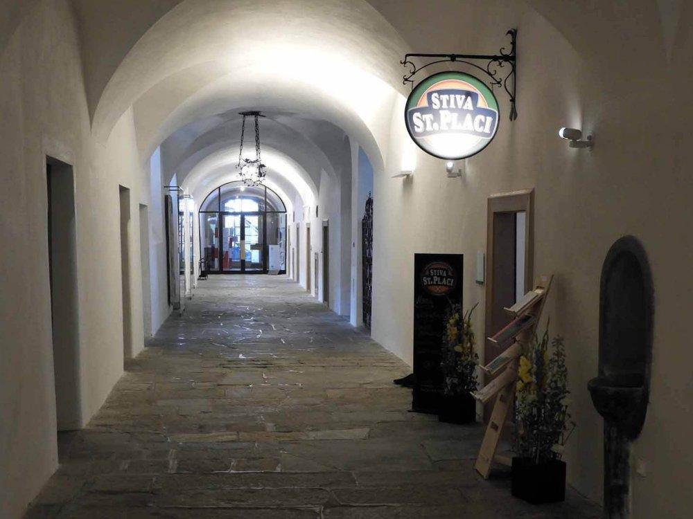 switzerland-oberalppass-vorderrhein-river-valleymonestary-kloster-disentis-monk-hallway.JPG