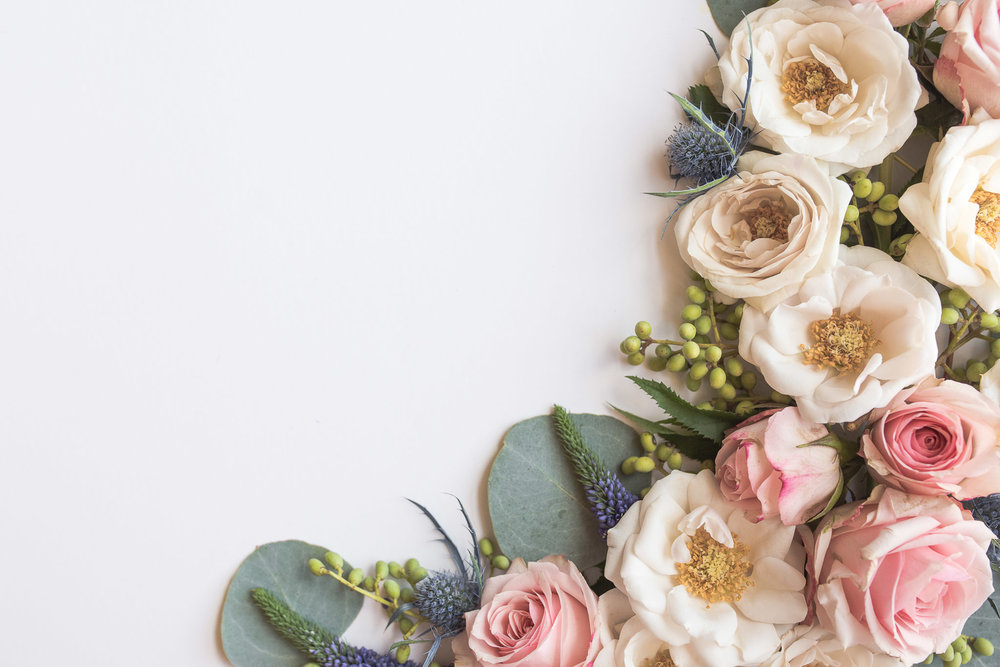 Blush and Pink Floral Image