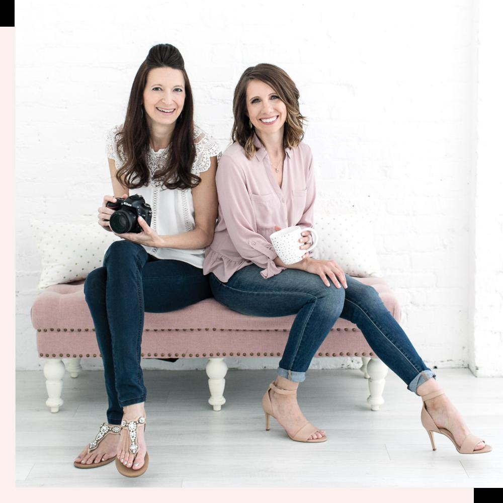 Corrie Barto and Jennie Newsome own Stock Love Studio, creating mockups and custom stock photography.