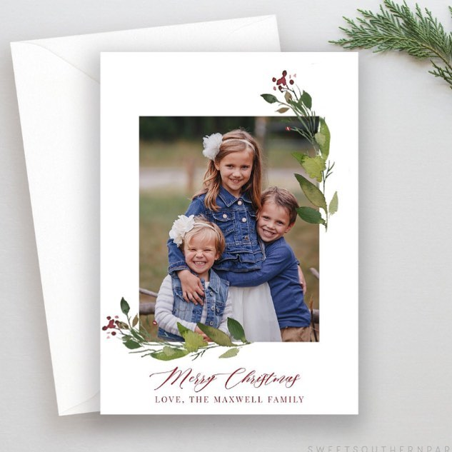 Hey, ya'll... Christmas cards are here! I'll be posting more designs this week with links to shop. 🎄