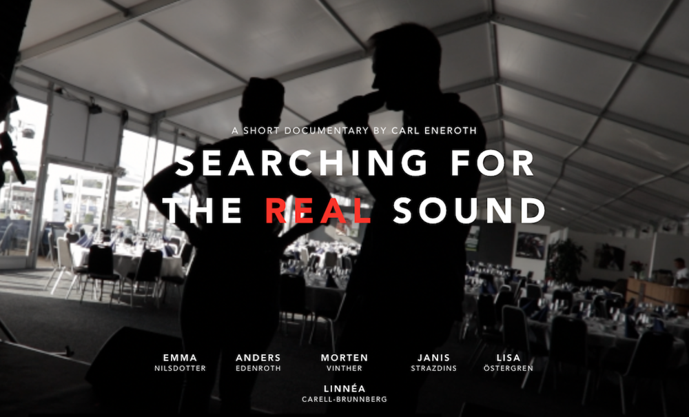 SEARCHING FOR THE REAL SOUND - Documentary by Carl Eneroth - Sthlm Social Innovation Lab