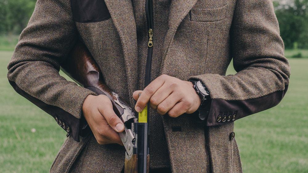 custom hunting jacket