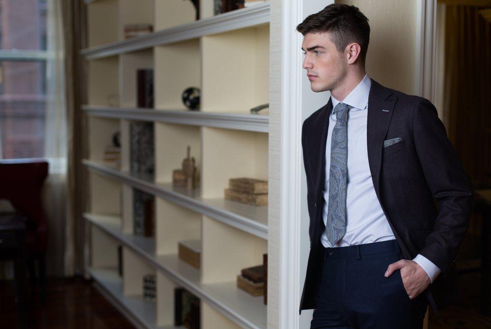Daniel George custom blazer