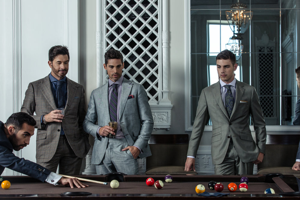 custom tailored suits chicago