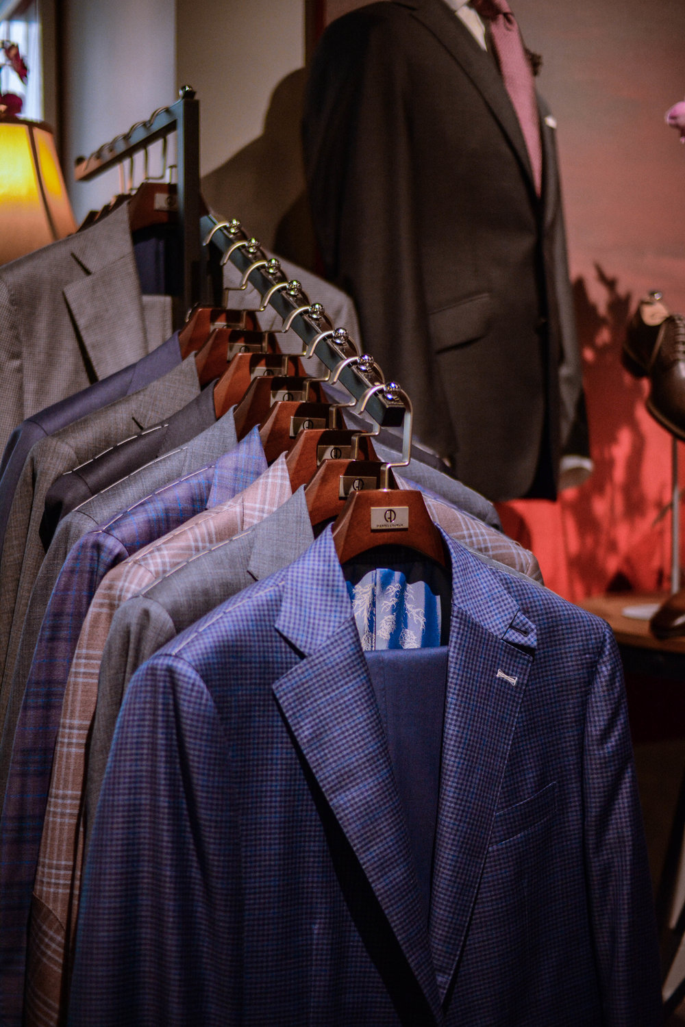 custom suits chicago
