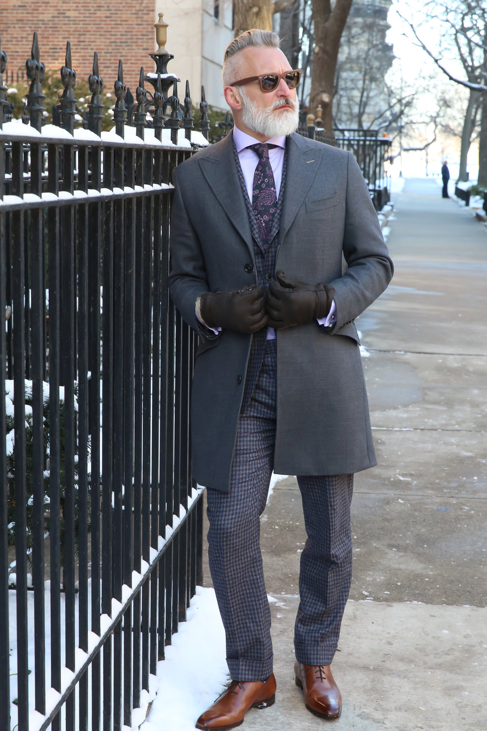 custom wool cashmere topcoat