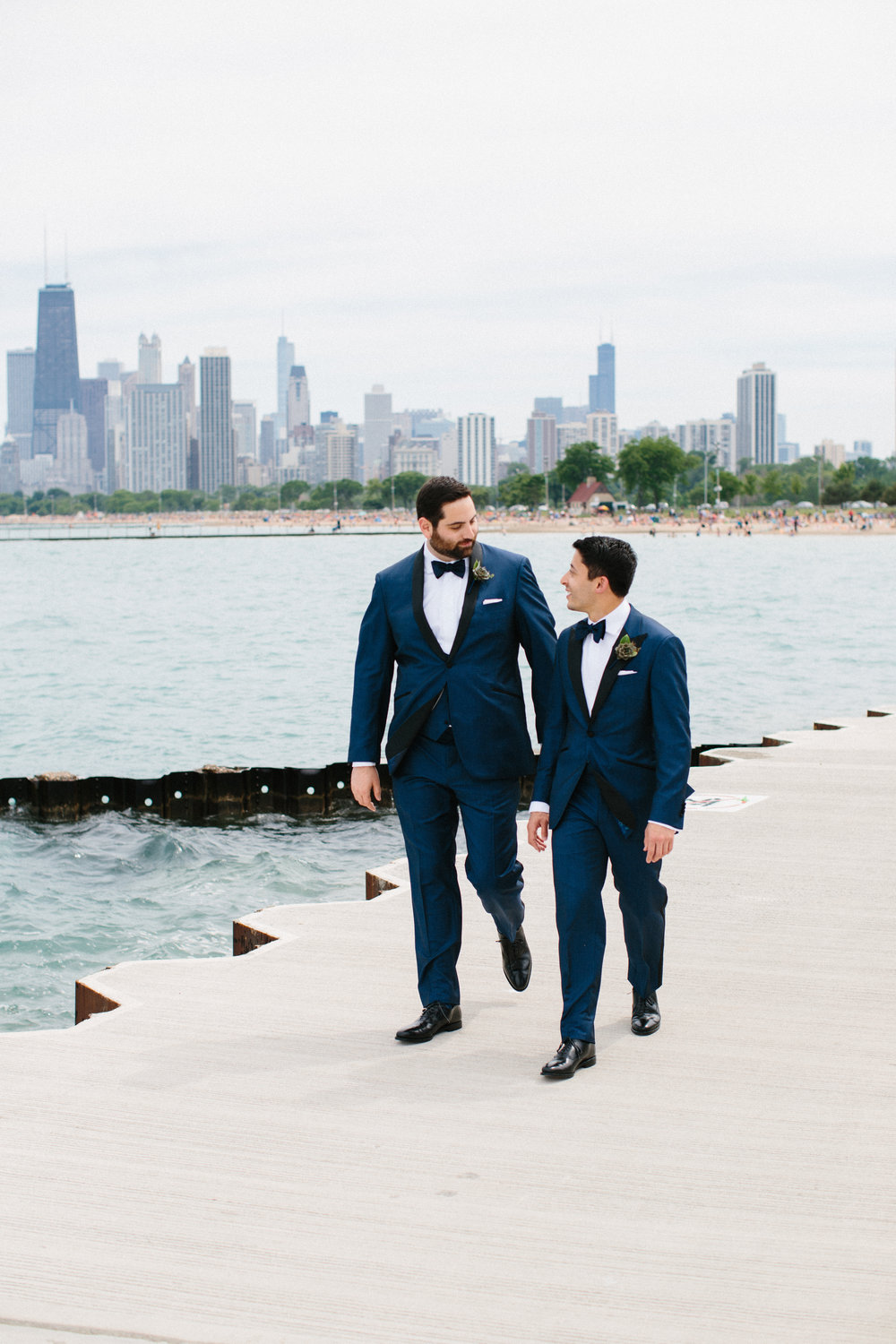 custom blue tuxedo chicago