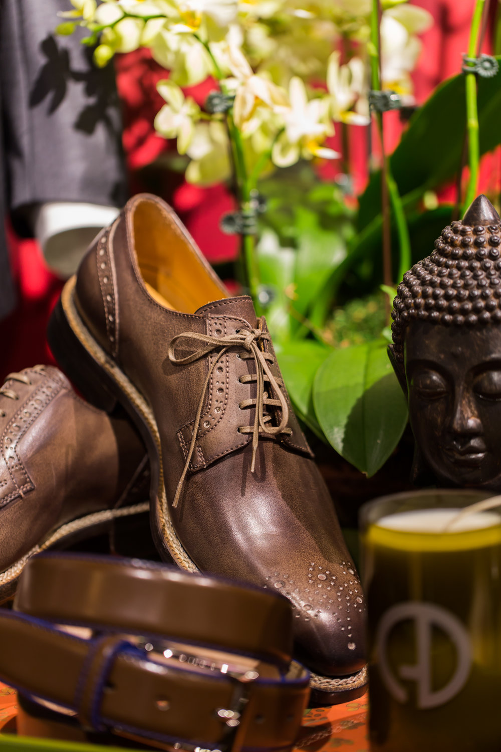 brown leather dress shoes chicago