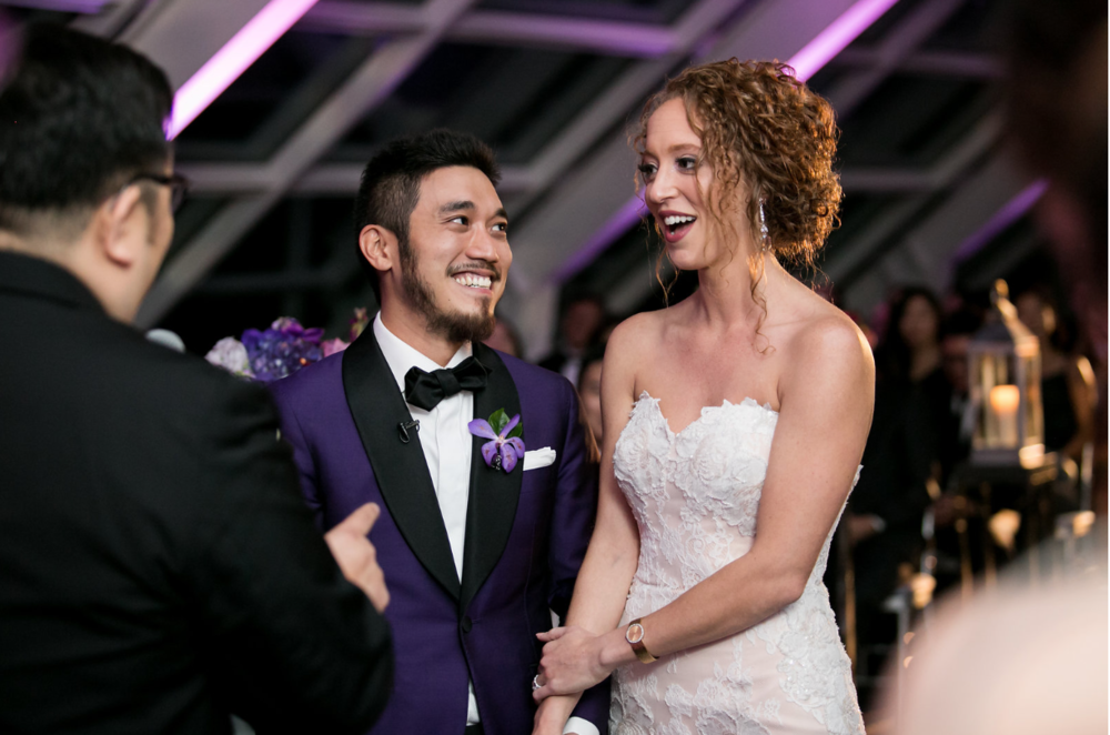 custom purple wedding tuxedo