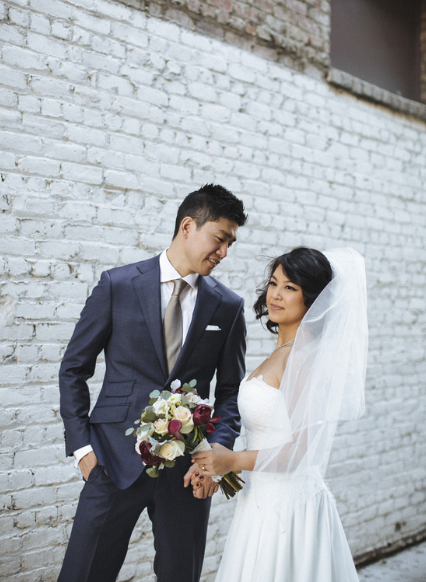 custom navy wedding suit chicago