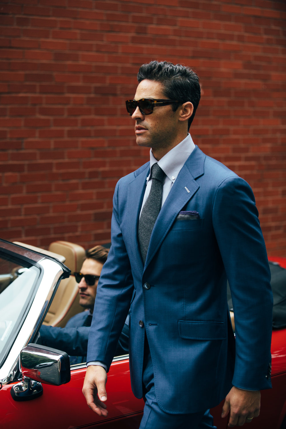 Daniel George custom suits Chicago