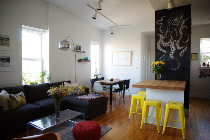 Jenny's home in Brooklyn – one of her first projects as JPA!