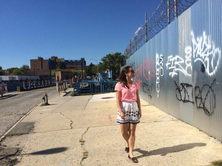 Jenny in Gowanus, 2014.