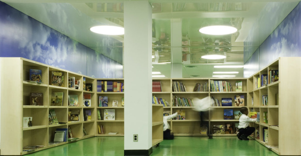 Montessori Queens – the first project Slade Architecture completed for the NYC Department of Design and Construction