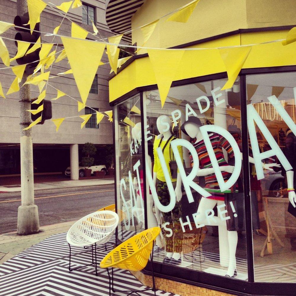 Kate Spade Saturday store exterior