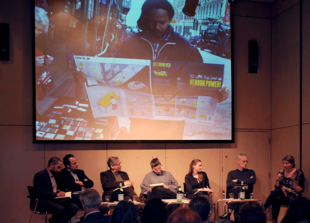 Sophie Hochhäusl at Panel Discussion and Book Launch at the Austrian Cultural Forum, New York