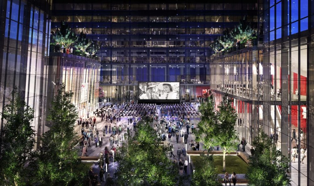 Manhattan West Development. Courtesy of SOM, by Millerhare.