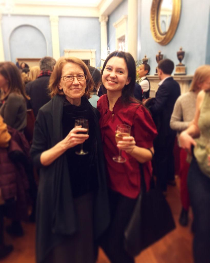 Sandra and Julia Gamolina at the Women's History Month: Annual Mentoring & Civic Leadership Reception 2018 at Gracie Mansion