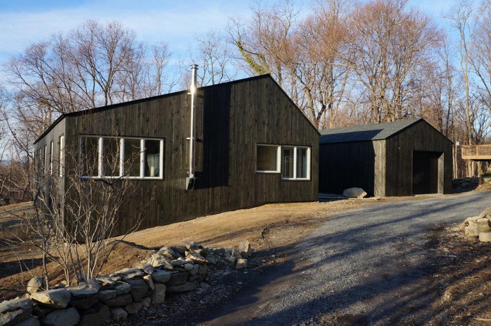 Erin's home in Beacon, NY