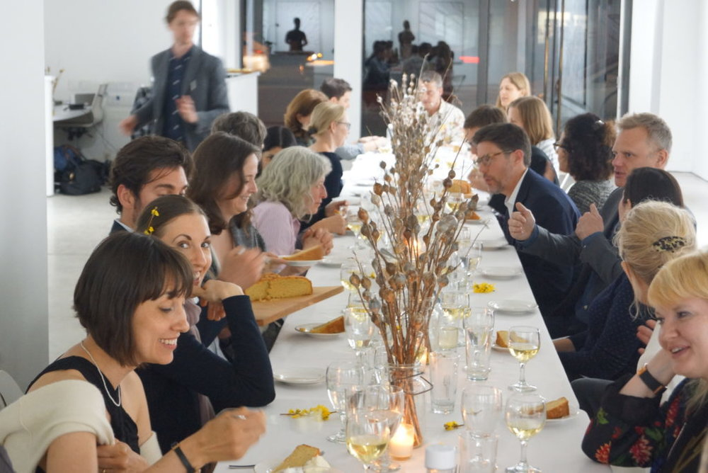 The Anthropocene Dinner from the Laurentia Projects