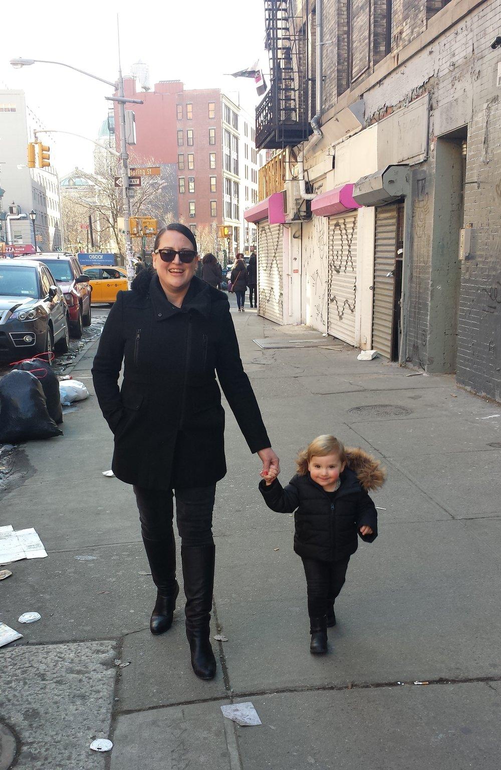 Carla with Ramona.