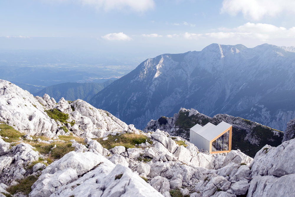 Peak House in Skuta, Slovenia