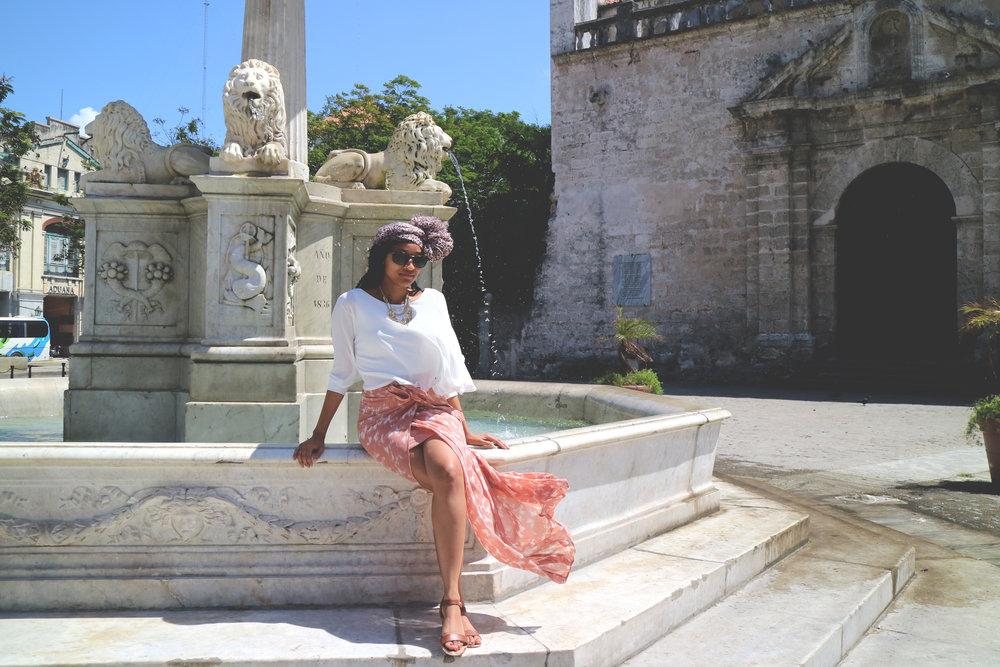 Elease in Havana, Cuba