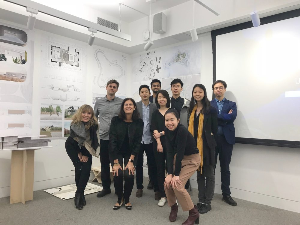 Galia with her Columbia GSAPP students