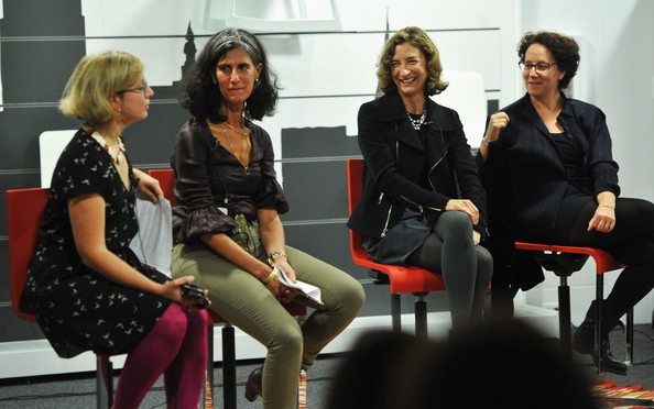At a New York Magazine And Dwell Magazine Discussion with Marion Weiss, Claire Weisz, and Alexandra Lange, 2012