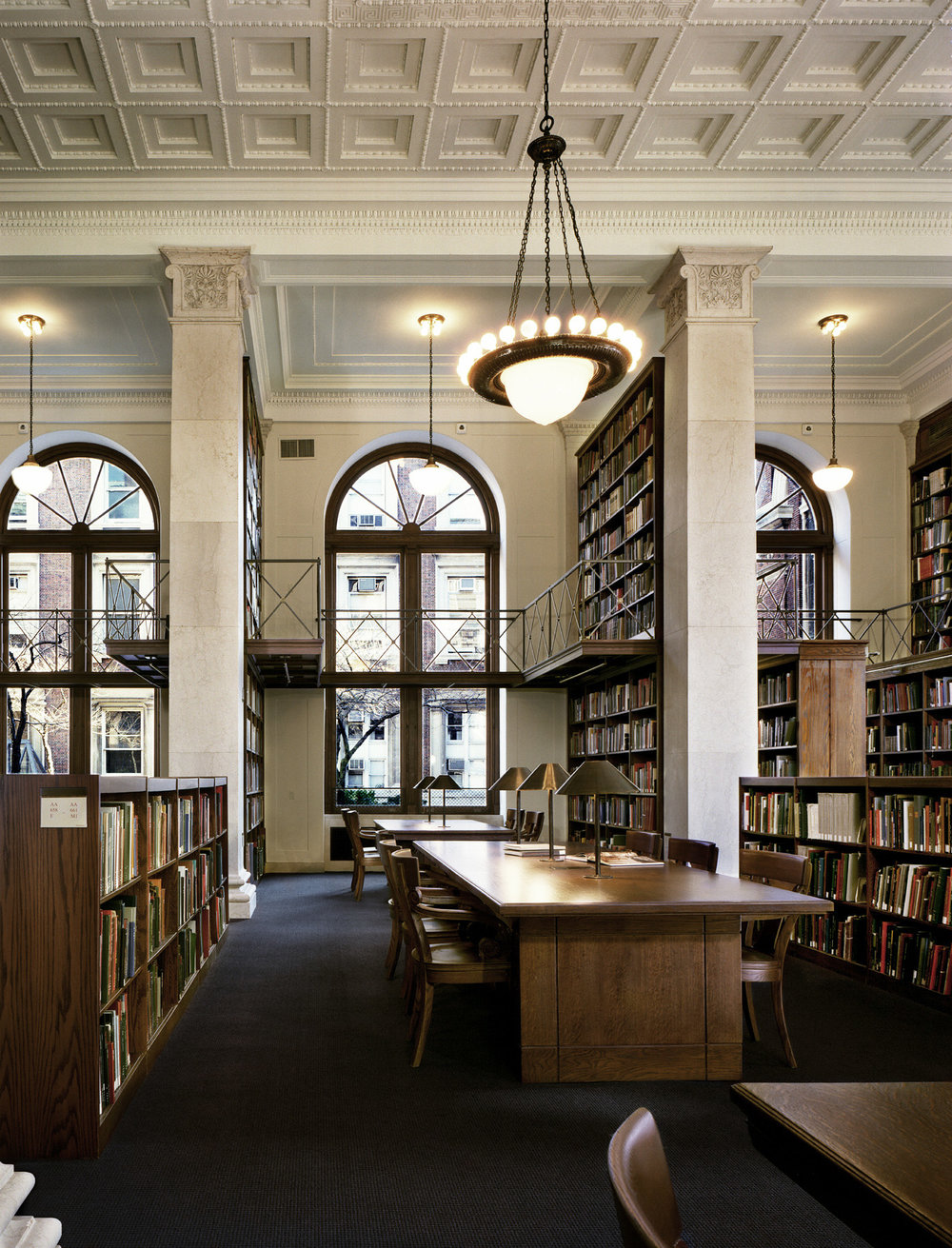 The Avery Architectural & Fine Arts Library at Columbia University