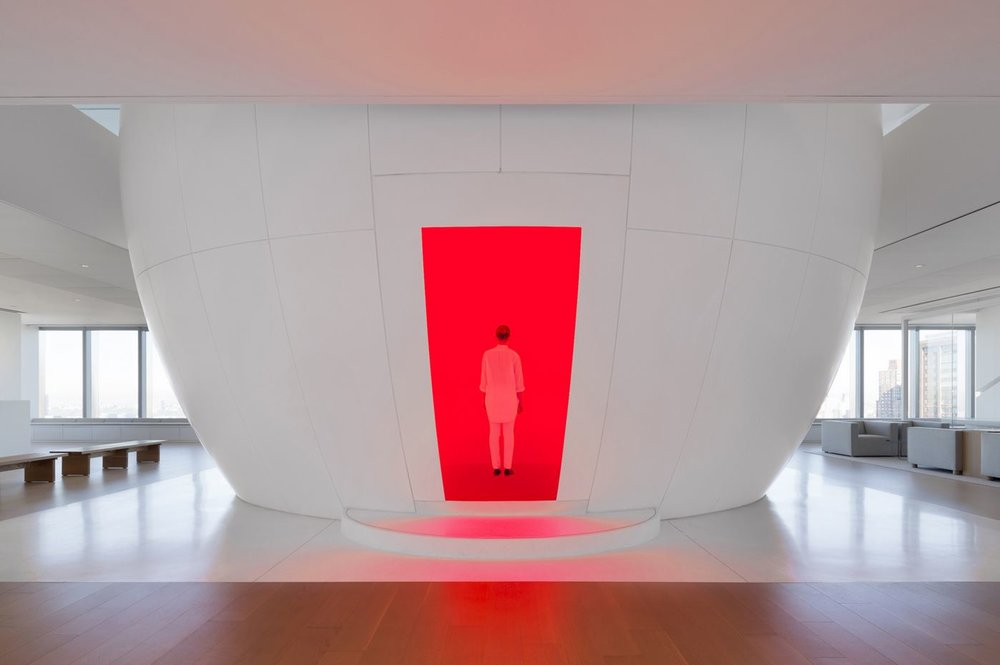 """The Ganzfeld Art Volume"" by James Turrell, photography by Michael Moran."