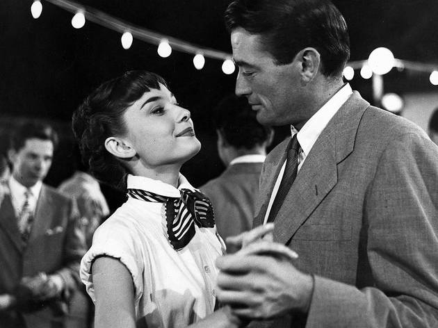 Still from  Roman Holiday , Audrey Hepburn and Gregory Peck.