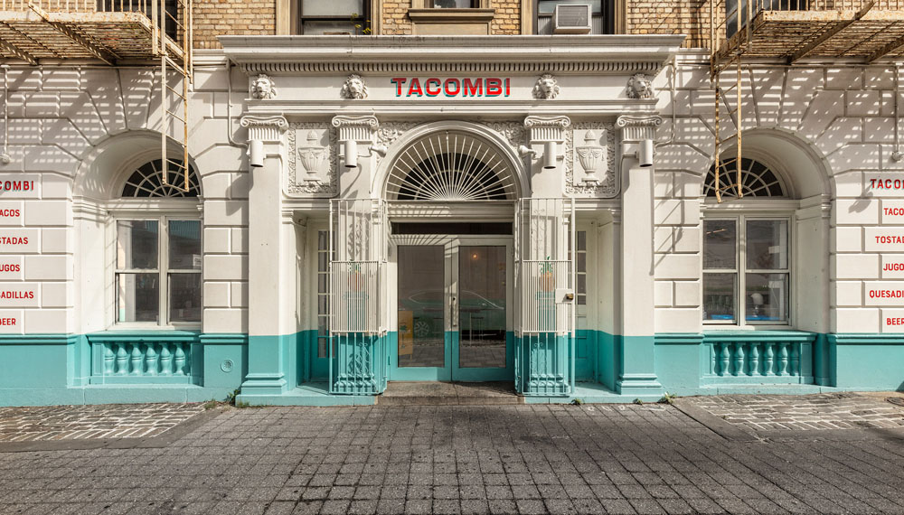 Tacombi restaurant renovation by NDNY in Brooklyn, NY