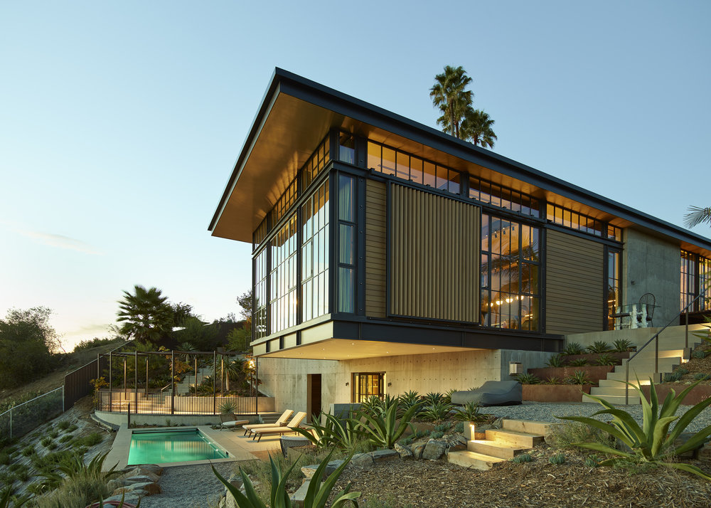 Hollywood Hills Home, photo by Kevin Scott.